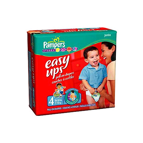 Pampers Easy Ups (mega pack)