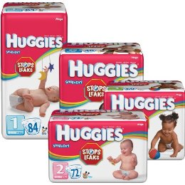 Huggies Diapers (mega pack)