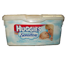 Huggies Wipes - 60 Count