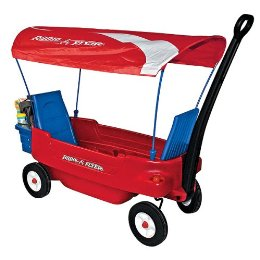 Radio Flyer Wagon with Canopy